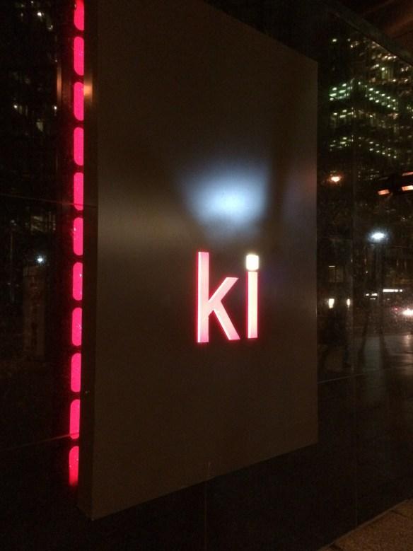 The very modern and popular Ki Restaurant even has a Sake Sommelier.