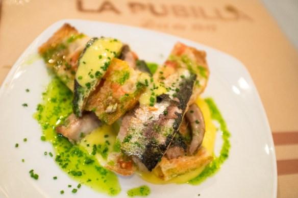 More tasty treats at La Publilla in Barcelona's Grácia neighborhood.