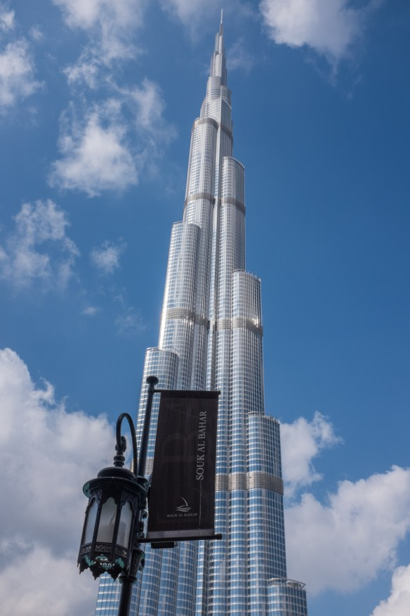 The Burj Kalifa, almost pinch-yourself unbelievable in its soaring height.