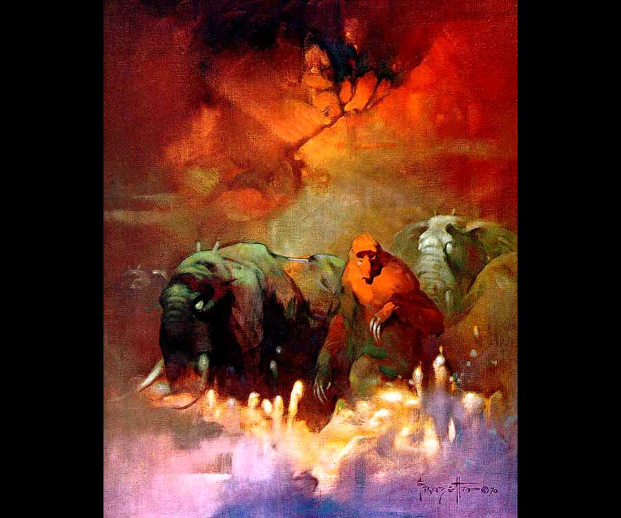 https://i0.wp.com/frankfrazetta.net/images/Frank%20Frazetta-Downward%20to%20Earth.jpg