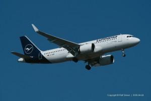 D-AINM Lufthansa Airbus A320-271N | MSN 8456