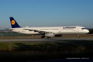 D-AIRP Lufthansa Airbus A321-131 | MSN 564