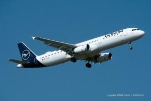 D-AIDG Lufthansa Airbus A321-231 | MSN 4672