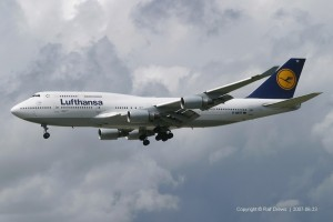 D-ABTF Lufthansa Boeing B747-430 | ln 848