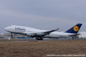 D-ABVX Lufthansa Boeing 747-430 | ln 1237