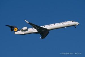 D-ACKB Lufthansa CityLine Bombardier CRJ-900LR | ln 15073 | Schliersee