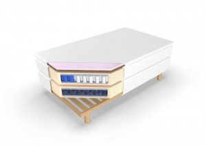 Continental Mattress With Memory Foam And Coconut Galatea