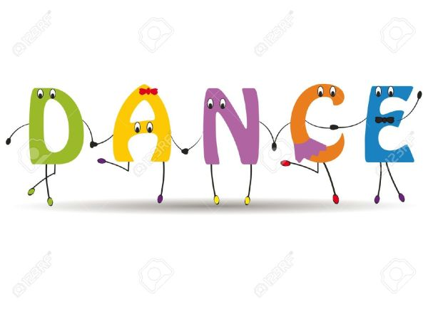 Dance Word Clip Art