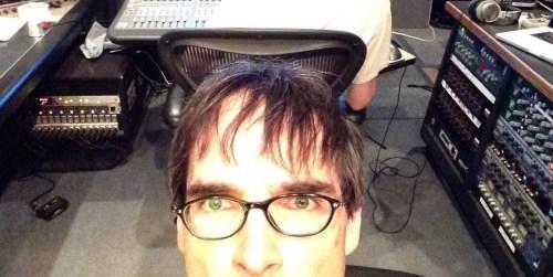 Frank Horvat in Studio at Canterbury