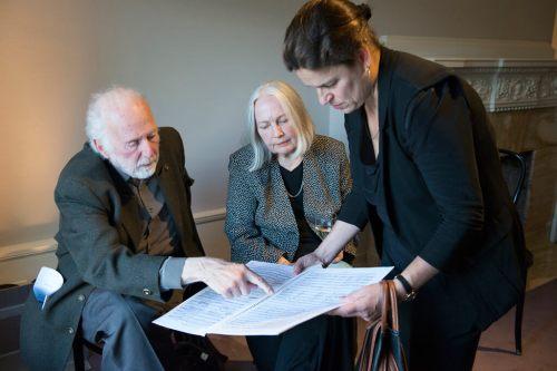 R. Murray Schafer (Photo courtesy Quatuor Molinari)