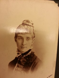 MSMC Archive photograph of Eugenie Lonergan (later Mrs. Spearman). Photograph by Rosemary Irvine