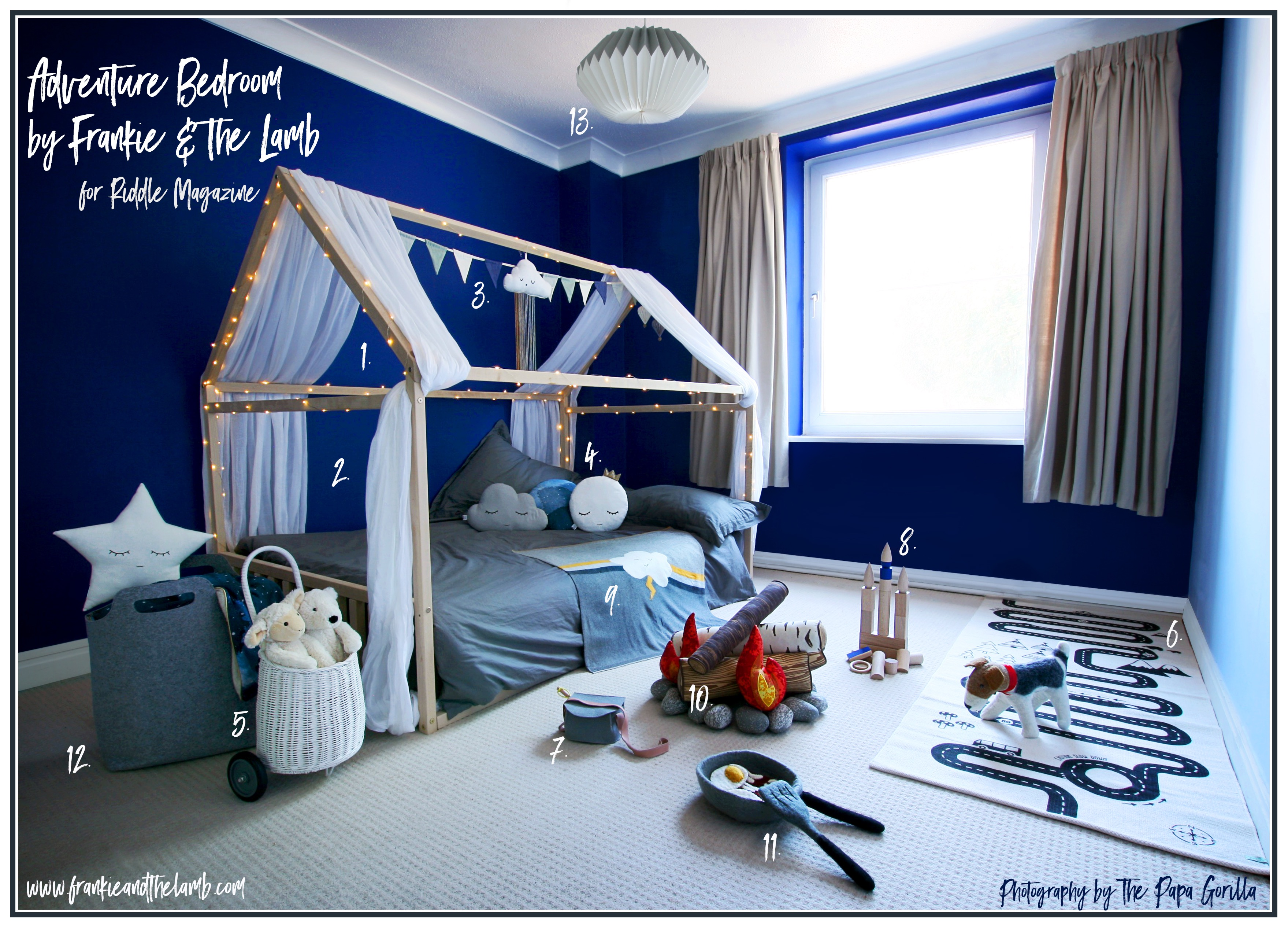 Makeover Of The Nursery With Montessori Floor Bed And