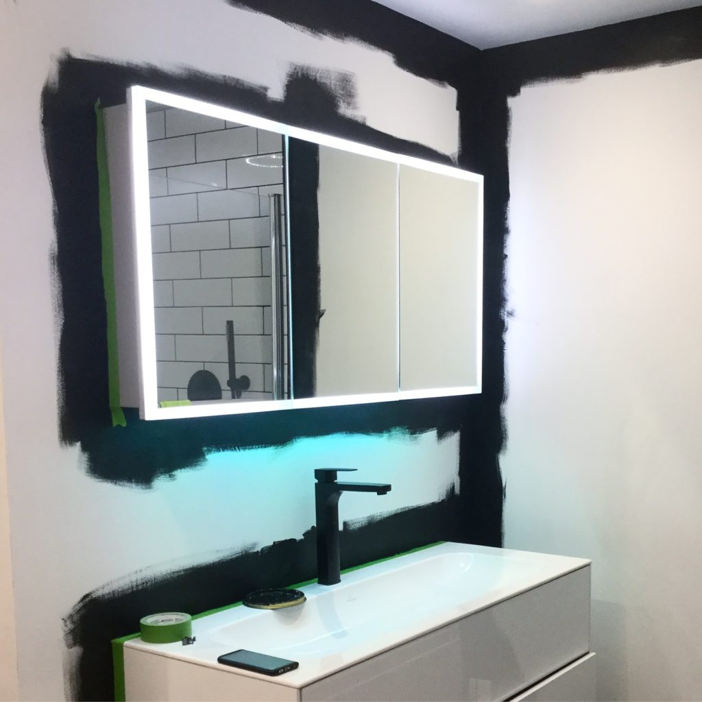 Bathroom Paints Little Greene Paint Company Black Walls In A Bathroom