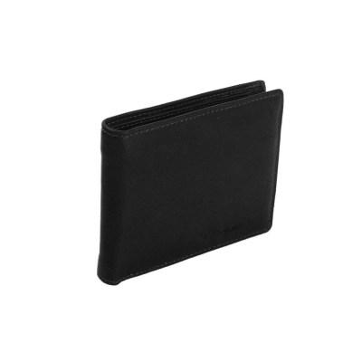 leren portemonnee zwart walid