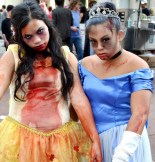 Belle and Cinderella Zombie