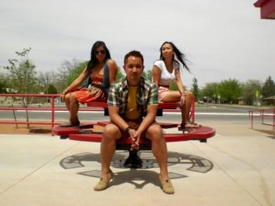 Roswell High School trio