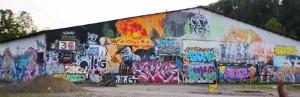 Graffiti River Arts District