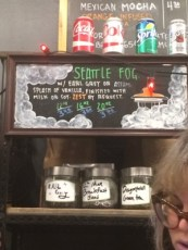 Try their Seattle Fog! 👍