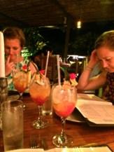 Drinks at Koki Beach