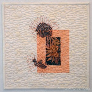 "Franki Kohler, Sunflower Scrap I, 12"" x 12"", 2012, For Sale"