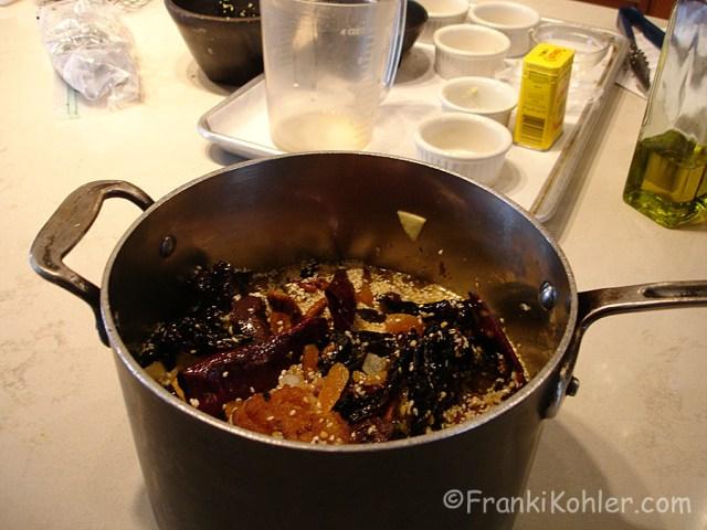 Franki Kohler, Mole, ready to simmer