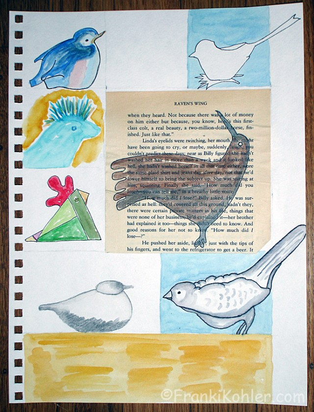 Franki Kohler, Lesson 4, page 2 in progress