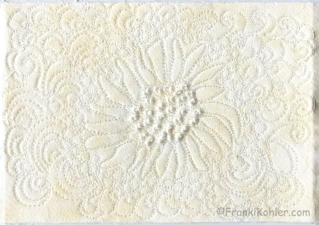 Franki Kohler, White on white #2