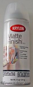 Fixative, Krylon Matte Finish 1311
