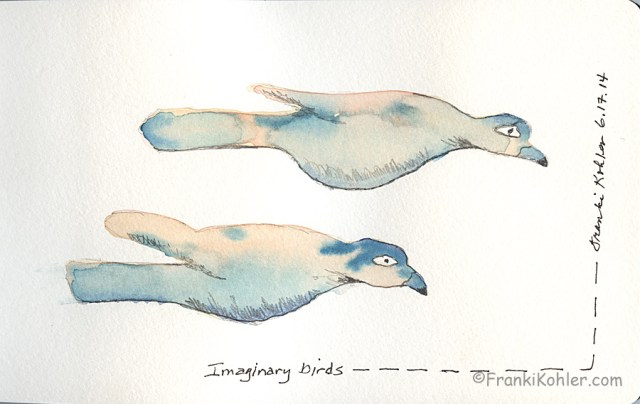 Imaginary birds