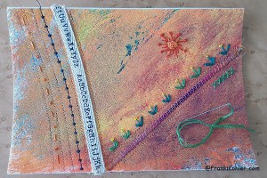 05-10-16 slow stitching notebook cover