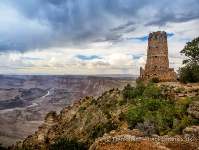Hopi watch tower at Grand Canyon, south rim, Arizona