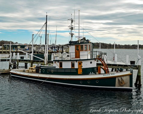 Wallace Foss II - A great old tug. Bowens Wharf, RI