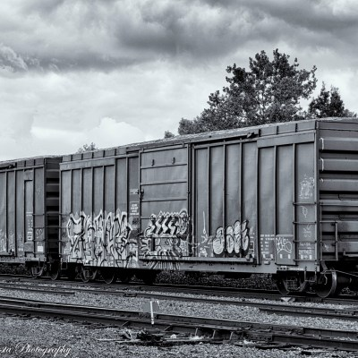 Box Car Graffite
