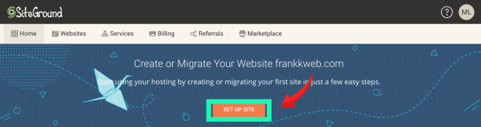 SiteGround:點擊網站設計