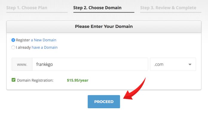 Siteground:url網址申請