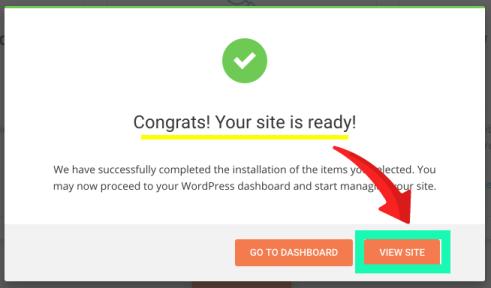 wordpress 外掛安裝成功