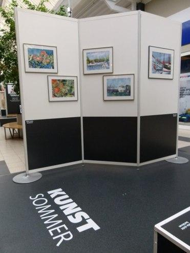 Aquarelle von Frank Koebsch beim Kunstsommer 2013 - 1