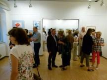 Malschüler und Gäste in der Ausstellung Faszination Aquarell (c) FRank Koebsch (4)