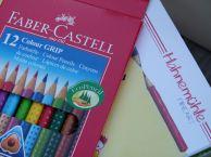 Faber Castel Colour Grip und Hahnemühle Junior Blog (c) FRank Koebsch (1)