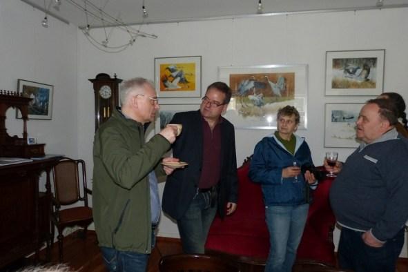 Vernissage der Ausstellung - Frühling im Land in Bad Sülze (c) Corinna Kastner