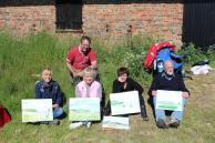Es hat Spaß gemacht in Middelhagen zu malen (c) Gerit Höhne-Grünheid