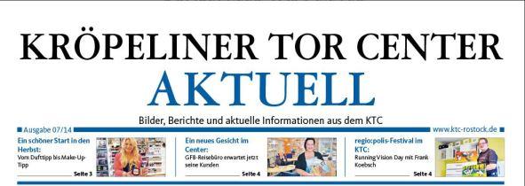 Kröpeliner Tor Center Aktuell - berichtet über das regiopolis Festival