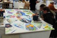 Diskussionen über das letzte Detail - Rostock kreativ 2015 (2)