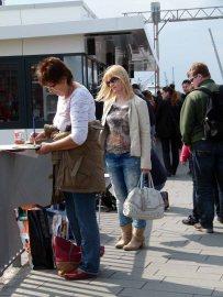 Malreise nach Hamburg - Malen an den Elbpromenaden beim Feuerschiff (c) Frank Koebsch (9)