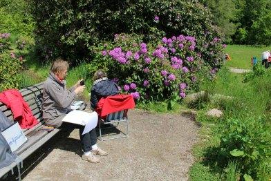 Malen im Park von Wiligrad (c) Frank Koebsch (15)