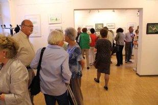 Schnappschüsse von der Eröffnung der Ausstellung Faszination Aquarell 2015 (c) Frank Koebsch (7)