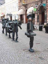 Straßenmusikanten in Malmö (c) Frank Koebsch