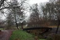 Brücke im herbstlichen Botanischen Garten Rostocks (c) FRank Koebsch