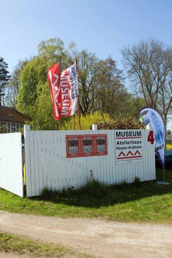 Atelierhaus Rösler-Kröhnke - Malort des Plein Air Festivals Kühlungsborn (c) FRank Koebsch (1)