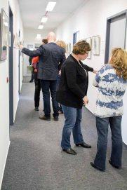 Besucher in der Ausstellung Wildes Land im Staatliches Amt für Landwirtschaft und Umwelt (c) FRank Kiebsch (1)